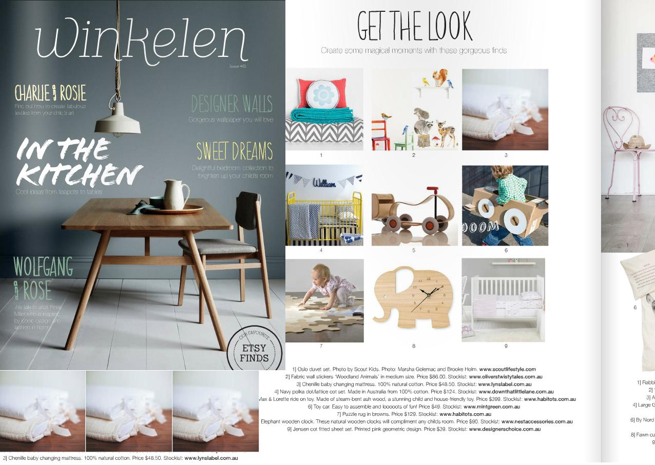 Media publications lyn 39 s label for Home and decor magazine